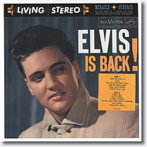 Elvis Is Back LP 1960