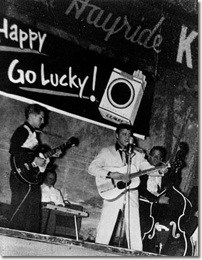 Elvis Presley on The Louisiana Hayride - January 22, 1955