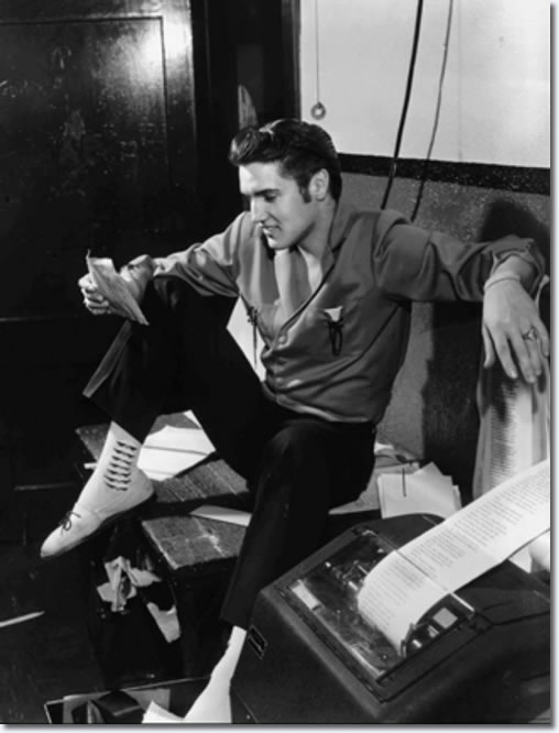 Elvis Presley At The Commercial Appeal June 8 1956