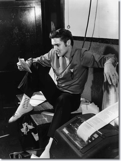 "Elvis Presley dropped by The Commercial Appeal on the night of June 8, 1956 and found an offbeat note. He saw a story that a Canadian radio station was banning his records. ""A lot of people like it,"" was one of his comments."