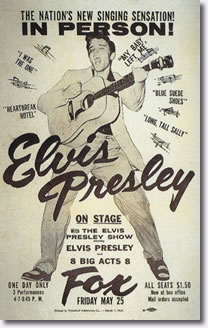 Elvis Presley in Person May 25, 1956