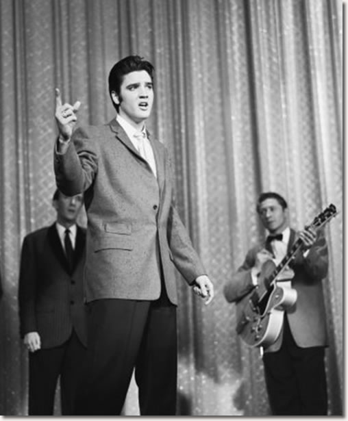 Elvis Presley and Scotty Moore on the Ed Sullivan Show - October 28, 1956