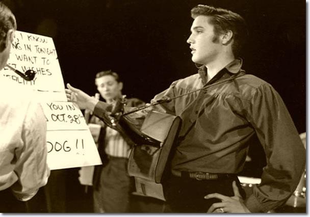 Elvis Presley :The Ed Sullivan Show : Rehearsals : September 9, 1956.