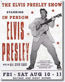 Elvis Presley In Person 10 11 August Jacksonville Fl