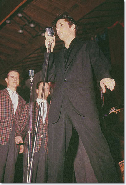 Elvis Presley April 5, 1957