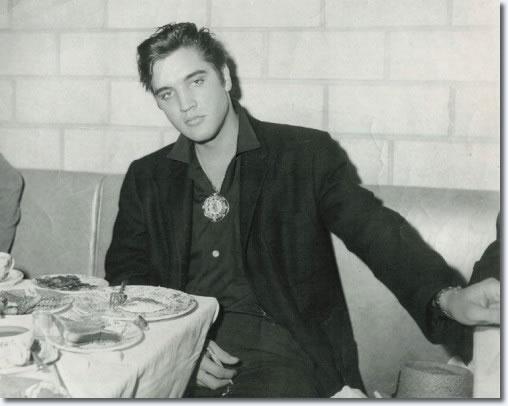 Elvis Presley : September 12, 1957 : Little Shamrock Cafe, Cleveland.