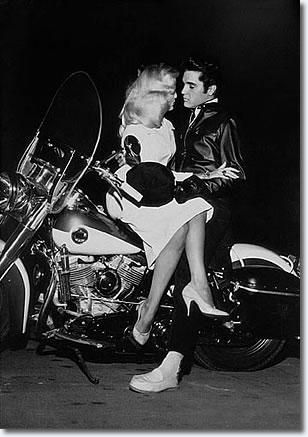 Elvis Presley & Hannerl Melcher - December 1957
