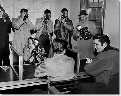Elvis Presley Kennedy Veterans Hospital January 4, 1957