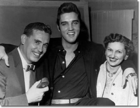 Norm Pringle of CDKA Radio, Elvis and Elsie Pringle