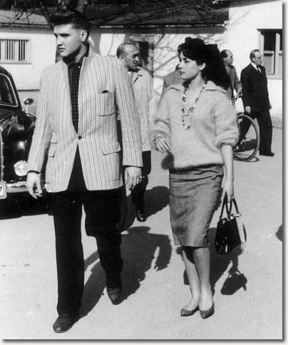 Elvis Presley & Vera Tschechowa - March 3, 1959
