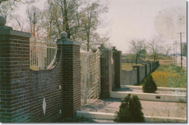 Graceland Gates - April, 1962