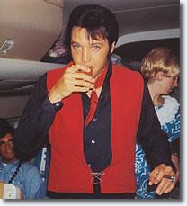 Elvis on Plane From Hawaii - June 2