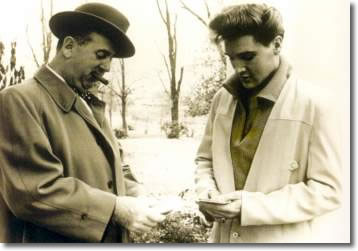 Colonel Tom Parker & Elvis Presley 1960