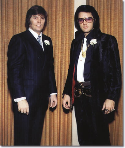 Sonny West and Elvis Presley