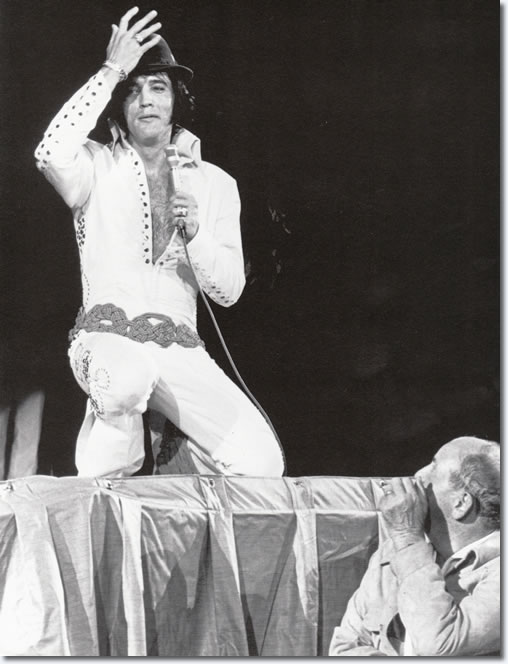 Elvis Presley   L A  Forum   November 14  1970  From the book  Elvis    Elvis Presley 1970 Concert Pictures