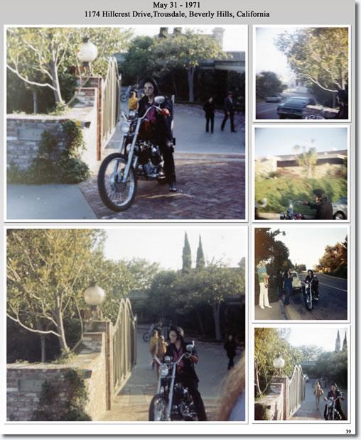 Elvis Presley : Trousdale Estates, Beverley Hills, California : May 31, 1971.