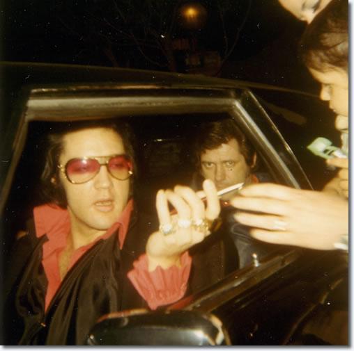 Elvis Presley : January 18-22, 1971 : Trousdale Estates.