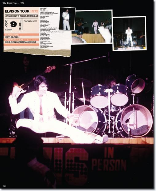 Elvis Presley : Tucson : November 9, 1972.