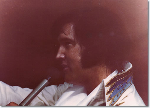 Elvis Presley : Fort Worth Texas : June 15, 1974