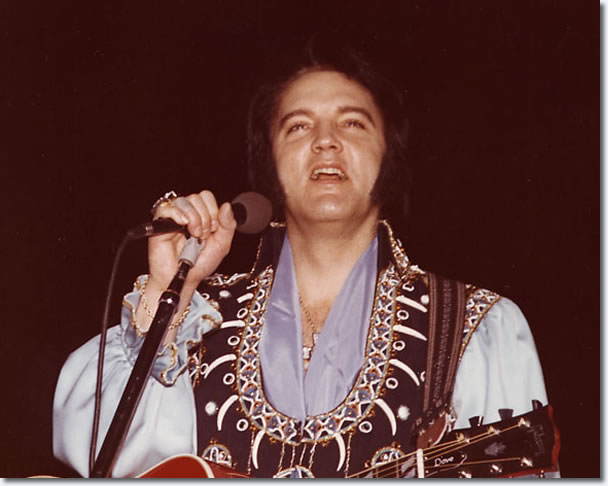 Elvis Presley Kiel Auditorium St Louis, Miss 8.30pm March 22, 1976