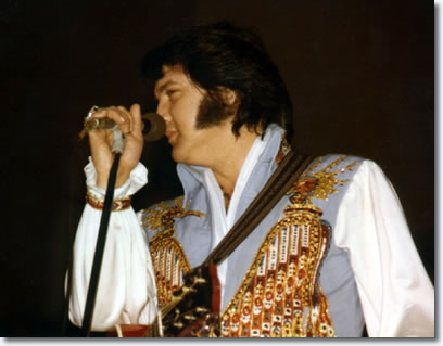 Elvis Presley at Long Beach Arena, Long Beach, Ca April 25, 1976
