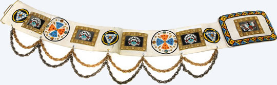 Elvis wore this belt was worn from around October 1976 through the Spring of 1977