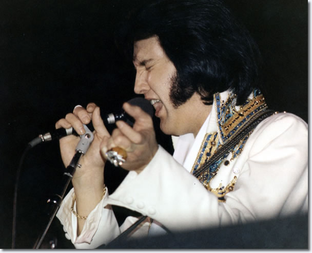Elvis Presley Cow Palace, San Francisco, Ca 8.30pm - Novembr 28, 1976