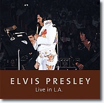Elvis Live In L.A. Book & CD
