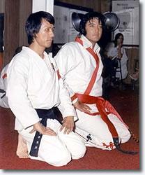 Master Kang Rhee & Elvis Presley