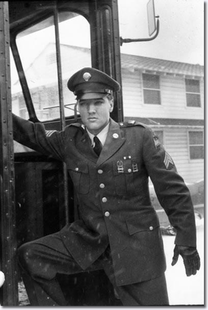 Sergeant Elvis Presley Back In The Usa March 3 5 6 And