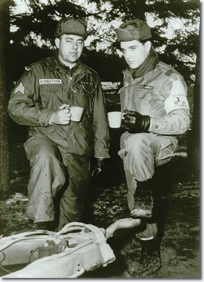 Private Elvis Presley in Grafenwoehr - November 1958