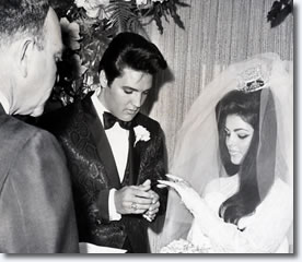 Elvis & Priscilla Married May 1, 1967