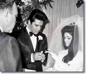 Elvis & Priscilla Married May 1, 1967