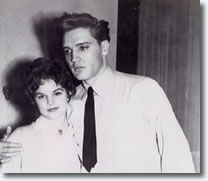 Priscilla Beaulieu & Elvis Presley in Germany