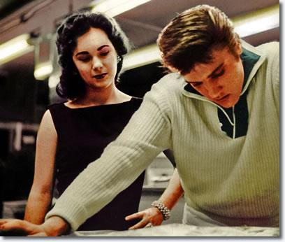 Barbara Hearn and Elvis Presley
