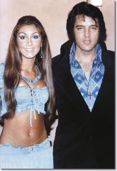 Elvis and Linda Thompson