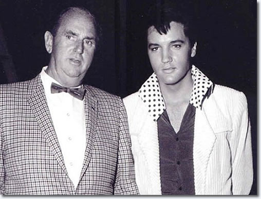 Colonel Tom Parker and Elvis Presley 1966