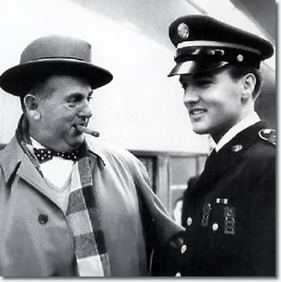 Colonel Parker and Elvis Presley - 1960