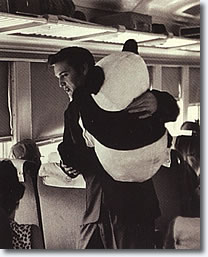 Elvis - July 1956 with Toy Panda