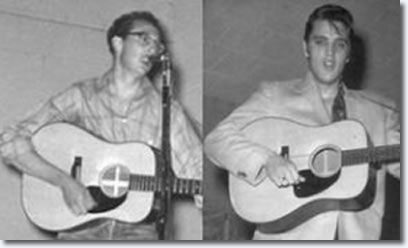 Buddy Holly and Elvis Presley : February 13, 1955 : Lubbock, Tx. Fair Park Coliseum