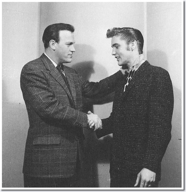 Eddy Arnold and Elvis Presley.