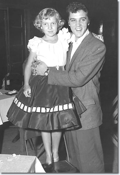 Pat Lowe and Elvis at the Cotton Club - Oct. 15, 1955.