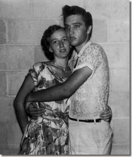 Ardys Bell Clawson, Elvis and Scotty - July 29, 1955