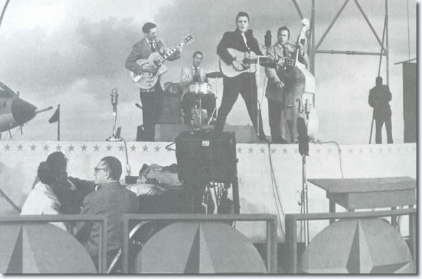 Elvis Presley : The Milton Berle Show Rehearsals : April 3, 1956.