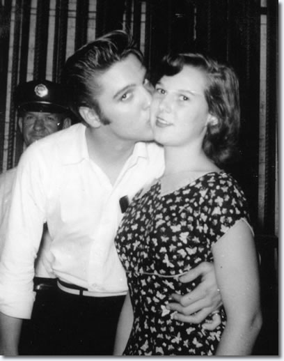 Elvis Presley and Kathy Campbel : August, 1956.