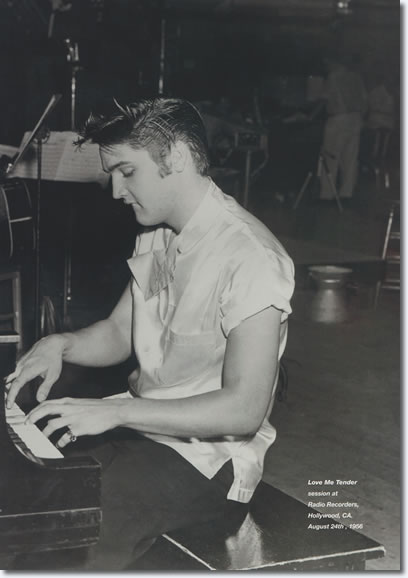 Elvis Presley : Love Me Tender Recording Sessions : August 24, 1956