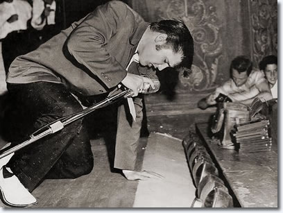 Elvis Presley Olympia Theater, Miami, Florida - August 3, 1956