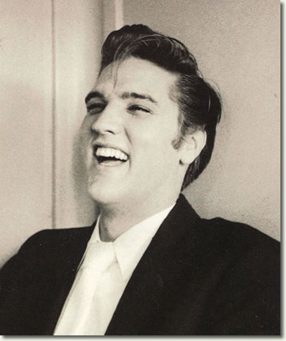 Why is Elvis laughing?