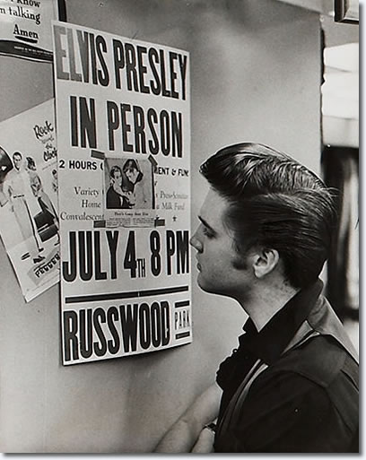 Elvis Presley : Memphis : June 14, 1956