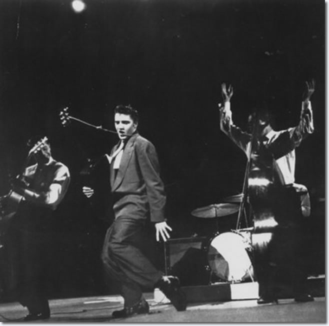 Elvis Presley : The Dorsey Brothers Stage Show : March 17, 1956.
